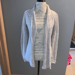 Gray Knit The Limited Cardigan Size Small